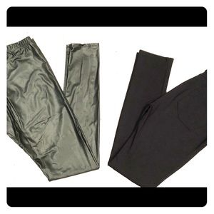 2 pairs of Women's Black Pants